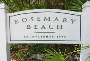 Rosemary Beach realty